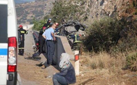 Σοβαρό τροχαίο στην Εγνατία Οδό - Φόβοι για νεκρούς 1