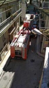 φωτιά σε διαμέρισμα στο κέντρο της κοζάνης-φωτογραφία 2