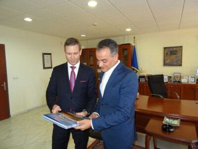 Επίσκεψη του Προξένου των ΗΠΑ στη Θεσσαλονίκη,  στον Περιφερειάρχη Δυτικής Μακεδονίας 3