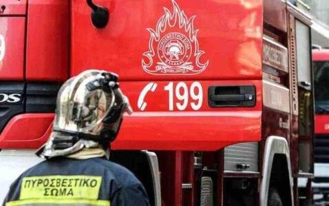 Eordaialive.com: Κατάσβεση πυρκαγιάς στο Κανάλι Πτολεμαΐδας από την Πυροσβεστική 1