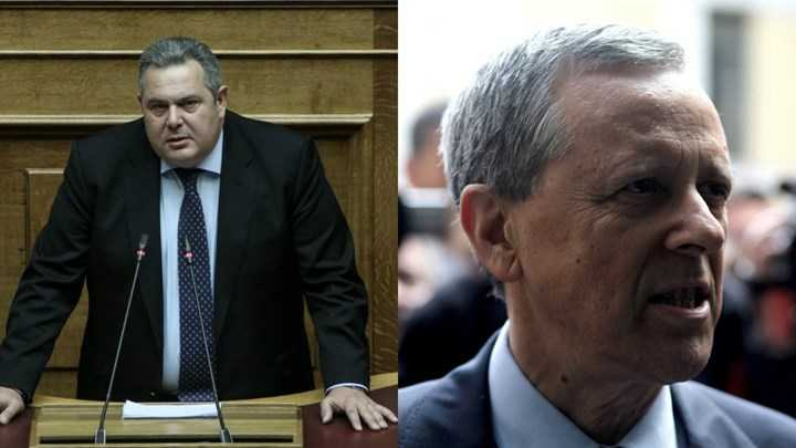 Τη συνεργασία τους στις ευρωεκλογές ανακοίνωσαν Καμμένος-Μπαλτάκος 1
