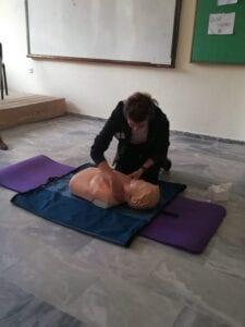 3ο ΓΥΜΝΑΣΙΟ ΠΤΟΛΕΜΑΪΔΑΣ: Ένα σχολείο σώζει ζωές! 25