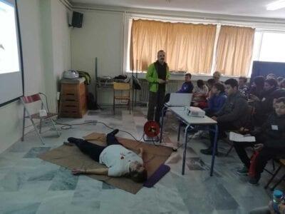 3ο ΓΥΜΝΑΣΙΟ ΠΤΟΛΕΜΑΪΔΑΣ: Ένα σχολείο σώζει ζωές! 20