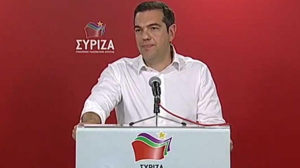 Τσίπρας Μετά τον β γύρο των αυτοδιοικητικών θα ζητήσω την προκήρυξη πρόωρων εκλογών 1