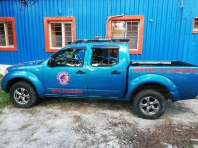 ''Μέγας Αλέξανδρος'' ονομάστηκε το φορτηγάκι (4Χ4) που απέκτησε η Εθελοντική Διασωστική Ομάδα Πτολεμαΐδας (φωτογραφίες) 11