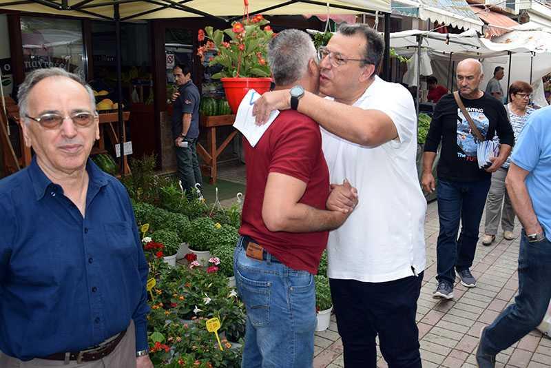 Eordaialive.com: επίσκεψη υποψηφίων βουλευτών στη λαϊκή αγορά Πτολεμαΐδας (βίντεο-φωτό) 27