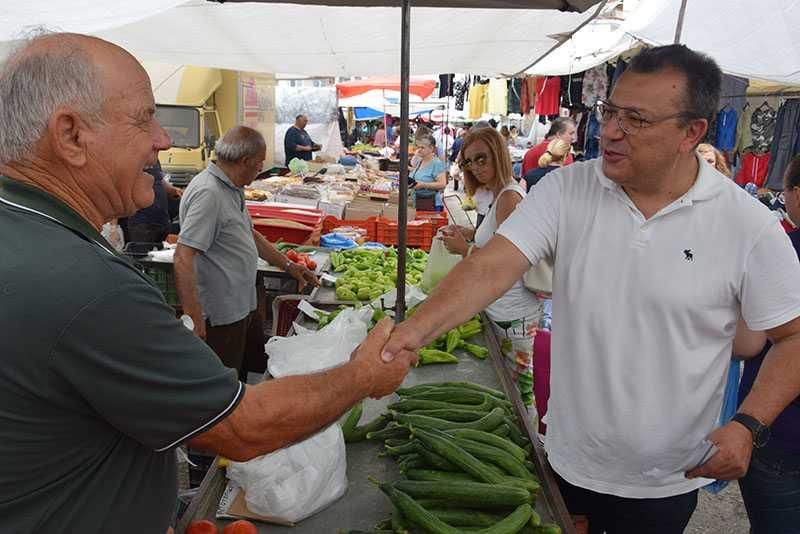 Eordaialive.com: επίσκεψη υποψηφίων βουλευτών στη λαϊκή αγορά Πτολεμαΐδας (βίντεο-φωτό) 22
