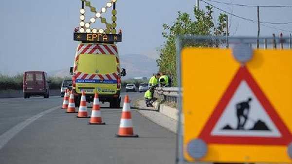 Προσωρινές κυκλοφοριακές ρυθμίσεις στην Εθνική Οδό Αθηνών-Θεσσαλονίκης στην Πιερία 1