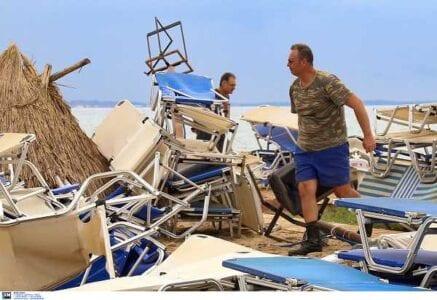 Μετρά τις πληγές της η Χαλκιδική - Μάχη για την αποκατάσταση των ζημιών 10