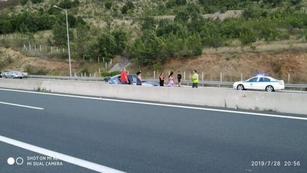 Τροχαίο στην Εγνατία οδό, από Γρεβενά προς Κοζάνη (φωτο) 3
