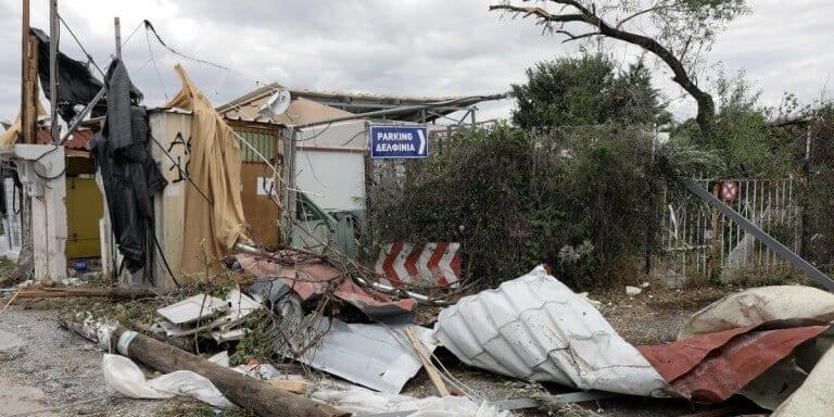 Χαλκιδική: Διάμετρο 160 χλμ. είχε η φονική καταιγίδα που έπληξε την περιοχή -Πρωτοφανείς και οι ριπές των ανέμων (βίντεο) 1