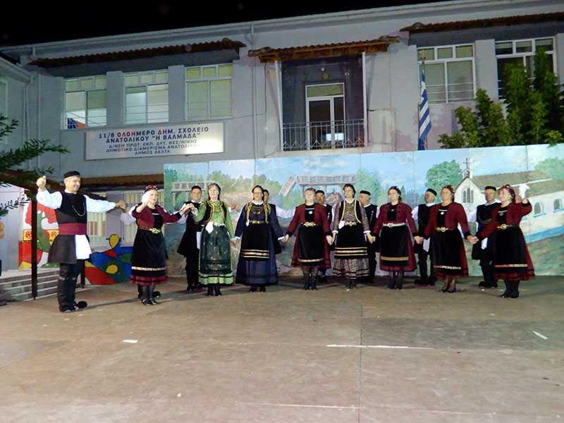 Το χορευτικό τμήμα του Συλλόγου Γρεβενιωτών Κοζάνης Ο ΑΙΜΙΛΙΑΝΟΣ στις εκδηλώσεις ΦΑΝΟΥΡΕΙΑ 2019 στο Ανατολικό Θεσσαλονίκης 17
