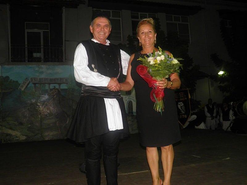 Το χορευτικό τμήμα του Συλλόγου Γρεβενιωτών Κοζάνης Ο ΑΙΜΙΛΙΑΝΟΣ στις εκδηλώσεις ΦΑΝΟΥΡΕΙΑ 2019 στο Ανατολικό Θεσσαλονίκης 16