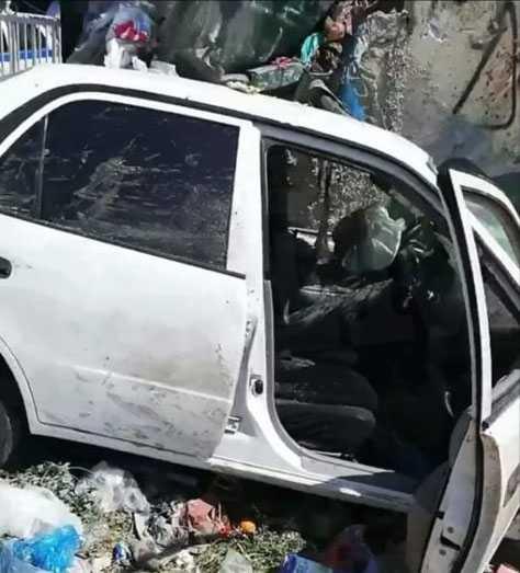 Σοκαριστικό δυστύχημα στο Καματερό: Πήγε να πετάξει τα σκουπίδια και τον παρέσυρε αυτοκίνητο (βίντεο) 1