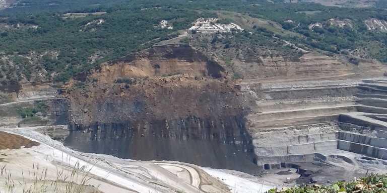 Κατολίσθηση ορυχείου στο Προσήλιο Κοζάνης, δεν κινδύνευσαν οι εργαζόμενοι 1