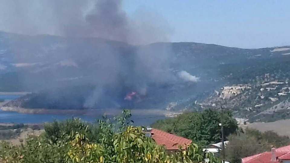 Κοζάνη: Φωτιά στην Ελάτη 3