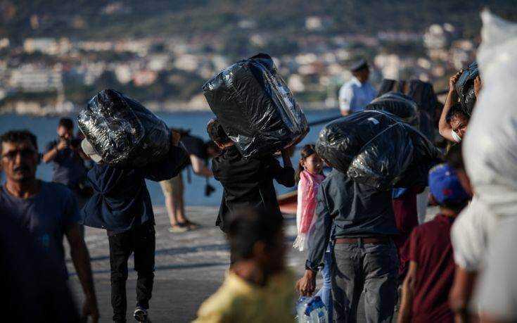 Σε δομές της Βόρειας Ελλάδας οι 1.500 πρόσφυγες και μετανάστες από τη Λέσβο 1