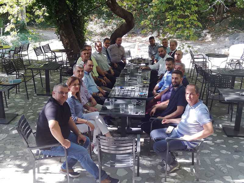 Επίσκεψη του Γιώργου Αμανατίδη στην Πέλλα με κλιμάκιο στελεχών της ΝΔ 4