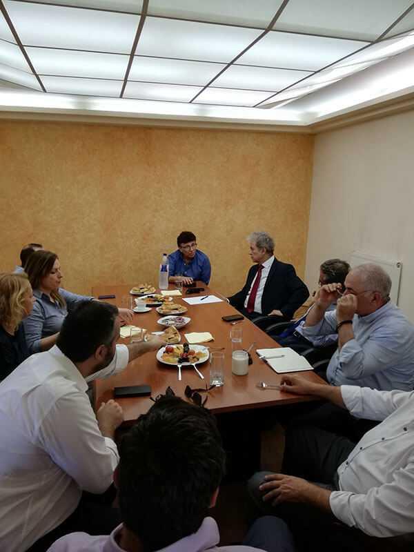Επίσκεψη του Γιώργου Αμανατίδη στην Πέλλα με κλιμάκιο στελεχών της ΝΔ 11