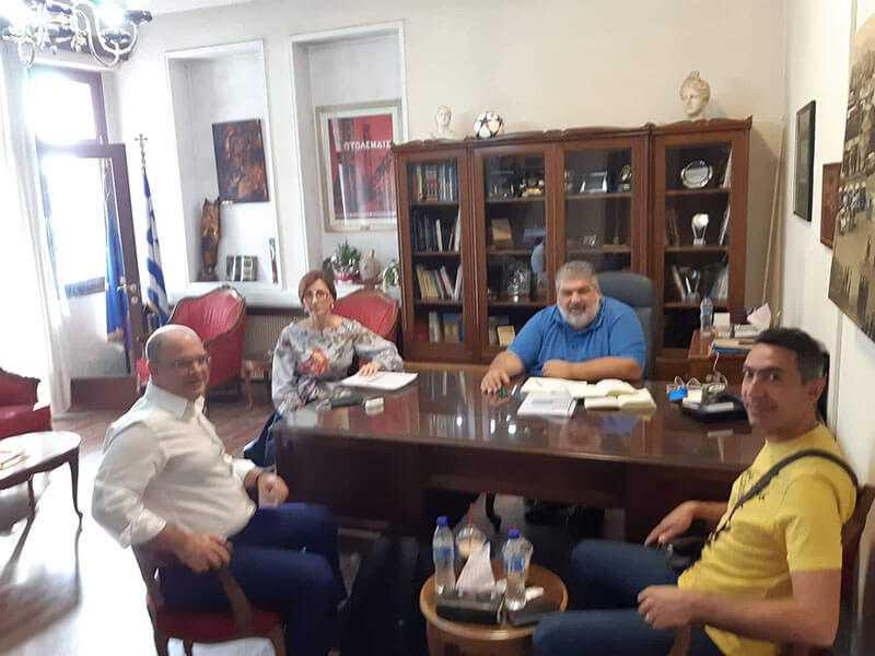 Συνάντηση Δημάρχου Εορδαίας με τον Δ/ντή Ερευνών Παραρτήματος Πτολεμαΐδας του ΕΚΕΤΑ/ΙΔΕΠ 1