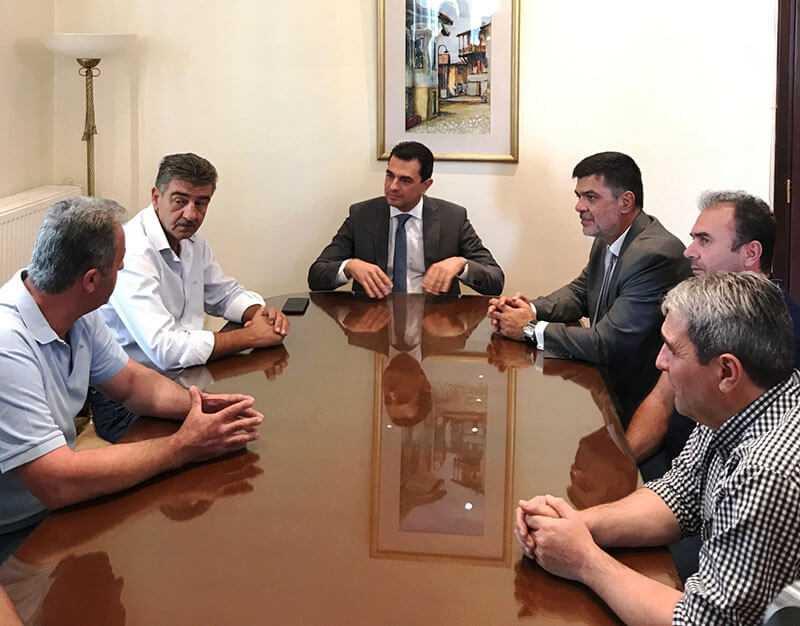 Επίσκεψη του Υφυπουργού Αγροτικής Ανάπτυξης και Τροφίμων Κώστα Σκρέκα στην Περιφέρεια Γρεβενών εν όψει της 84ης ΔΕΘ 8