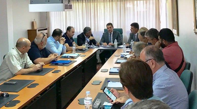 Επίσκεψη του Υφυπουργού Αγροτικής Ανάπτυξης και Τροφίμων Κώστα Σκρέκα στην Περιφέρεια Γρεβενών εν όψει της 84ης ΔΕΘ 2