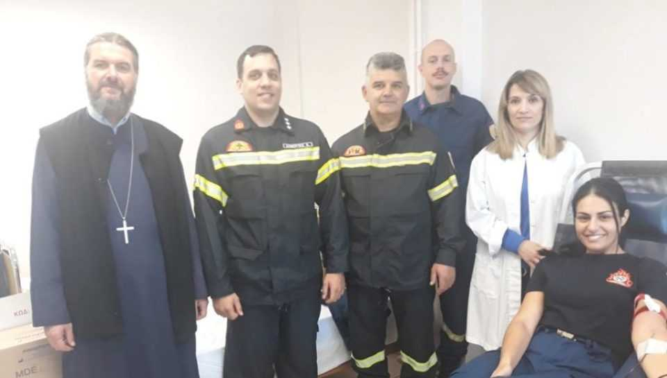 Πτολεμαΐδα: Οι Δόκιμοι Πυροσβέστες κοντά στη μικρή Λυδία 1
