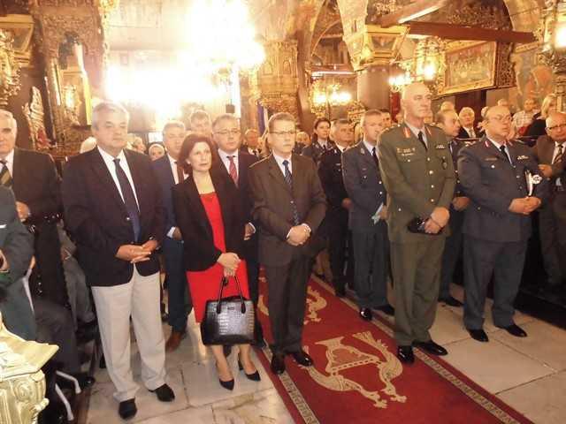 Εορτασμός του Προστάτη του Σώματος,Μεγαλομάρτυρα Αγίου Αρτεμίου και της «Ημέρας της Αστυνομίας» 25