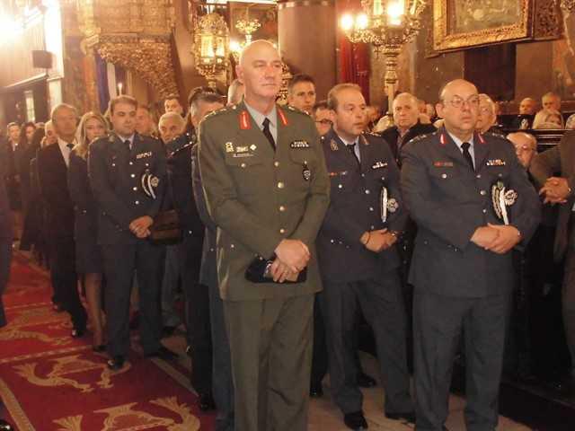 Εορτασμός του Προστάτη του Σώματος,Μεγαλομάρτυρα Αγίου Αρτεμίου και της «Ημέρας της Αστυνομίας» 30