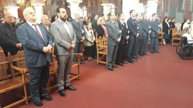 Εορτασμός του Προστάτη του Σώματος,Μεγαλομάρτυρα Αγίου Αρτεμίου και της «Ημέρας της Αστυνομίας» 27