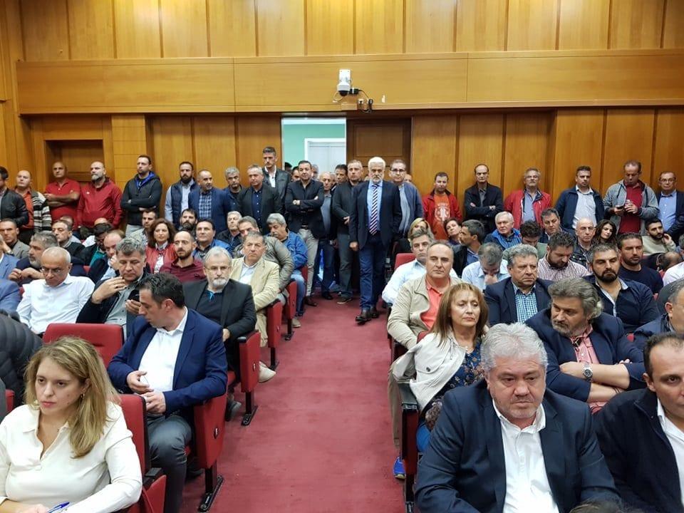 έκτακτο περιφερειακό συμβούλιο δυτικής μακεδονίας για τη δεη (φωτογραφίες) 30