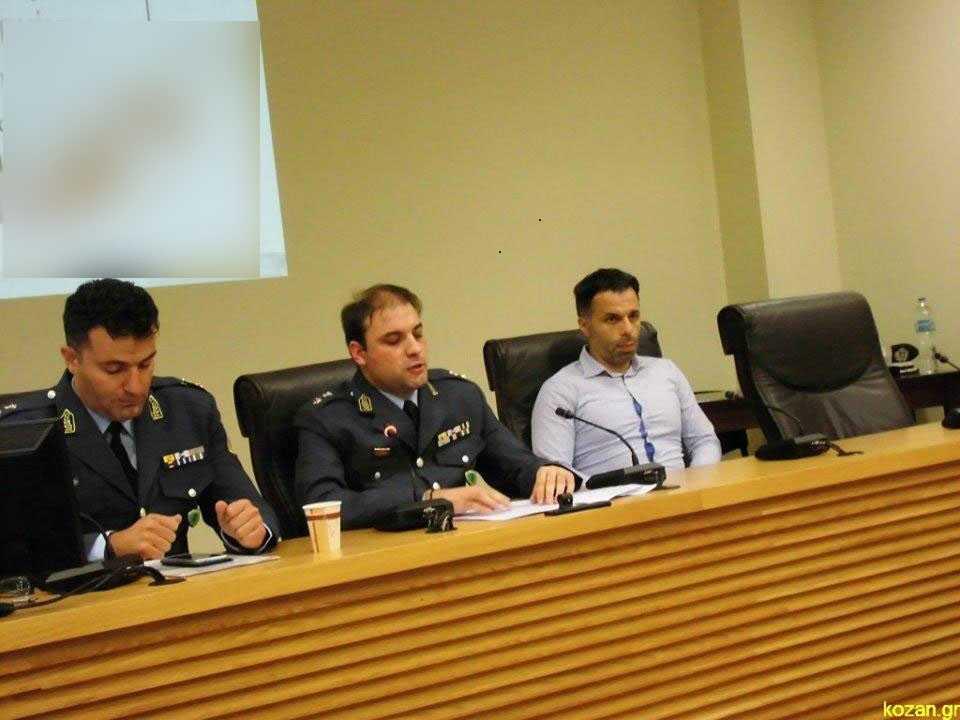 Ολοκληρώθηκε με επιτυχία η τετραήμερη εκστρατεία ενημέρωσης παιδιών και ενηλίκων, με θέμα «Μαζί για την Ασφάλειά μας», που πραγματοποιήθηκε με πρωτοβουλία της Διεύθυνσης Αστυνομίας Κοζάνης 16