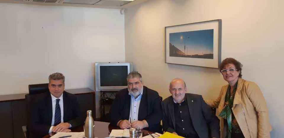 Σε ΡΑΕ και ΔΕΔΑ για θέματα της Δ.Ε.ΤΗ.Π. ο Δήμαρχος Εορδαίας Παναγιώτης Πλακεντάς. 1