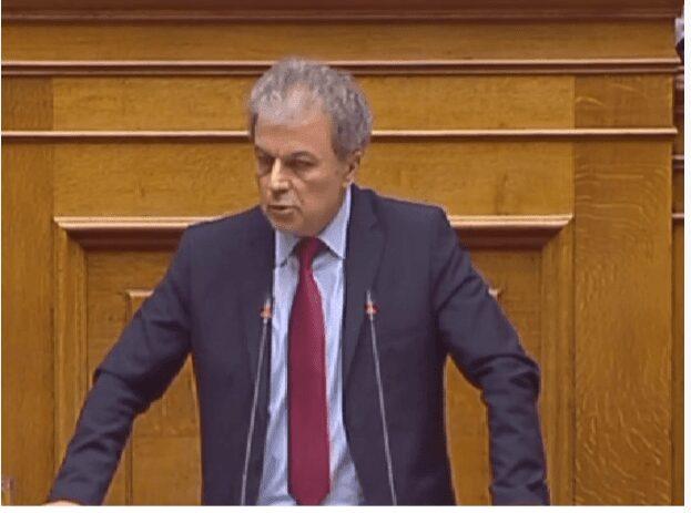 Ομιλία του Γιώργου Αμανατίδη στην Ολομέλεια της Βουλής (βίντεο) 1