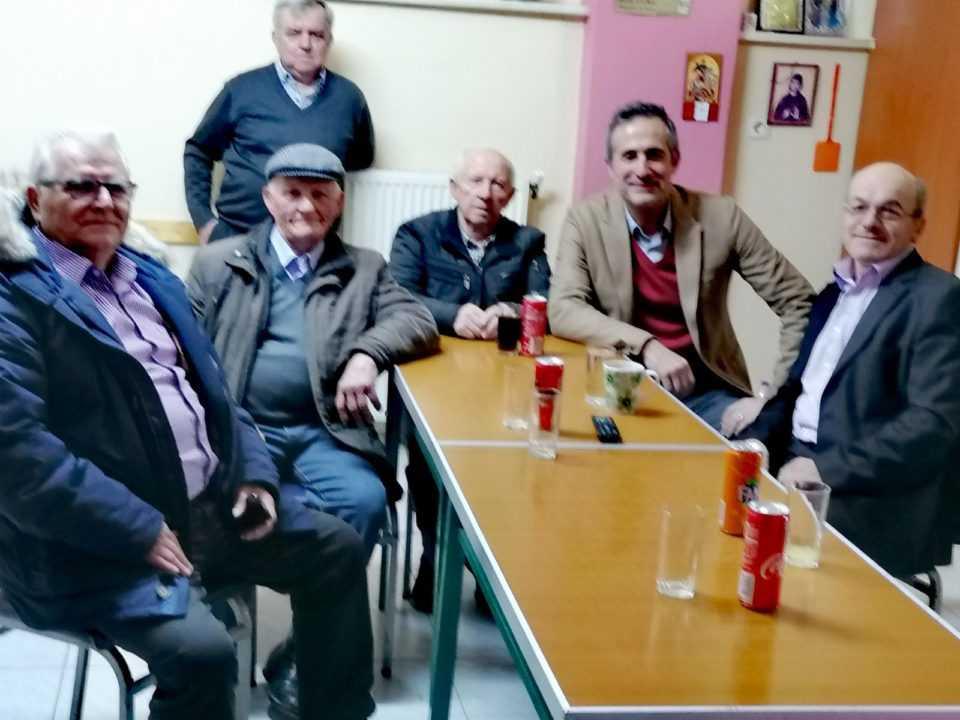 Ευχές Βουλευτή Ν. Κοζάνης Στάθη Κωνσταντινίδη για τη νέα χρονιά, με φίλους από την περιοχή των Καμβουνίων 2