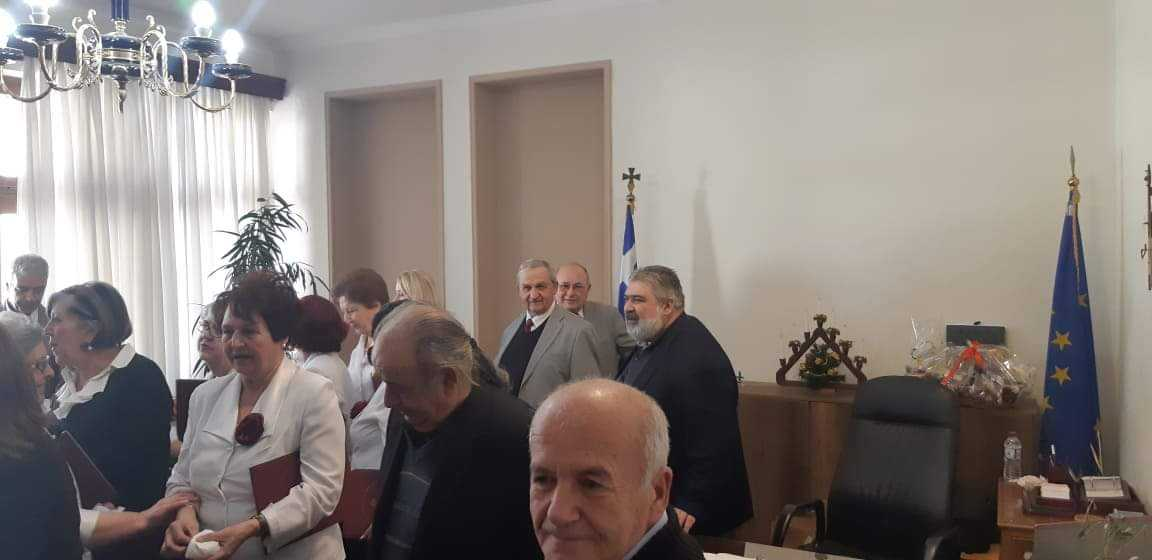 Κάλαντα και ευχές στον Δήμαρχο Εορδαίας (βίντεο-φωτο) 35