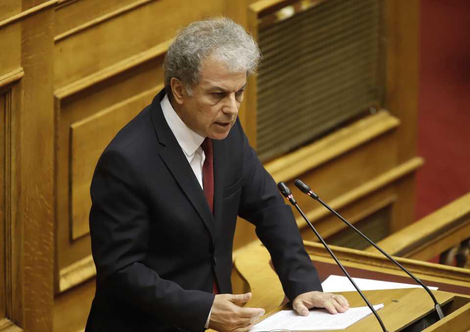 Ομιλία του κ. Αμανατίδη για το νέο Ασφαλιστικό στην Ολομέλεια της Βουλής