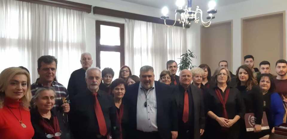 Κάλαντα και ευχές στον Δήμαρχο Εορδαίας (βίντεο-φωτο) 16