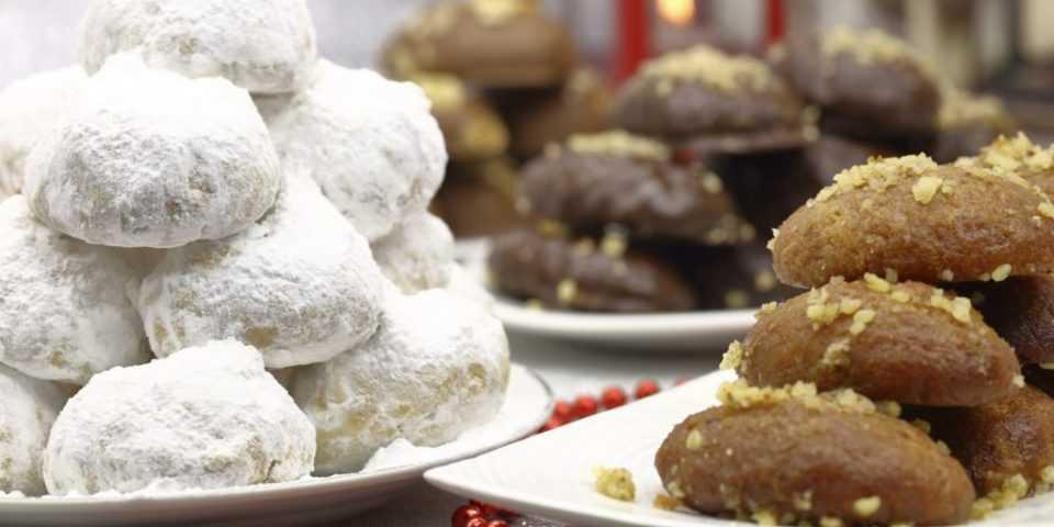 Είκοσι συνταγές για γλυκά των Χριστουγέννων 1