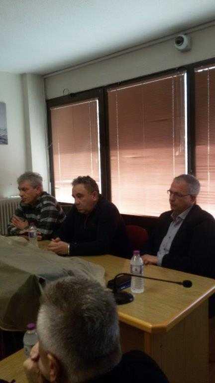 Επίσκεψη του Πάνου Ρήγα στα γραφεία του ΣΠΑΡΤΑΚΟΥ - «Θα είμαστε δίπλα σας»