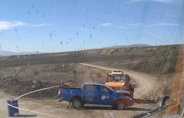 eordaialive.com: Τροχαίο ατύχημα στο ορυχείο Νοτίου Πεδίου (φωτογραφίες) 10