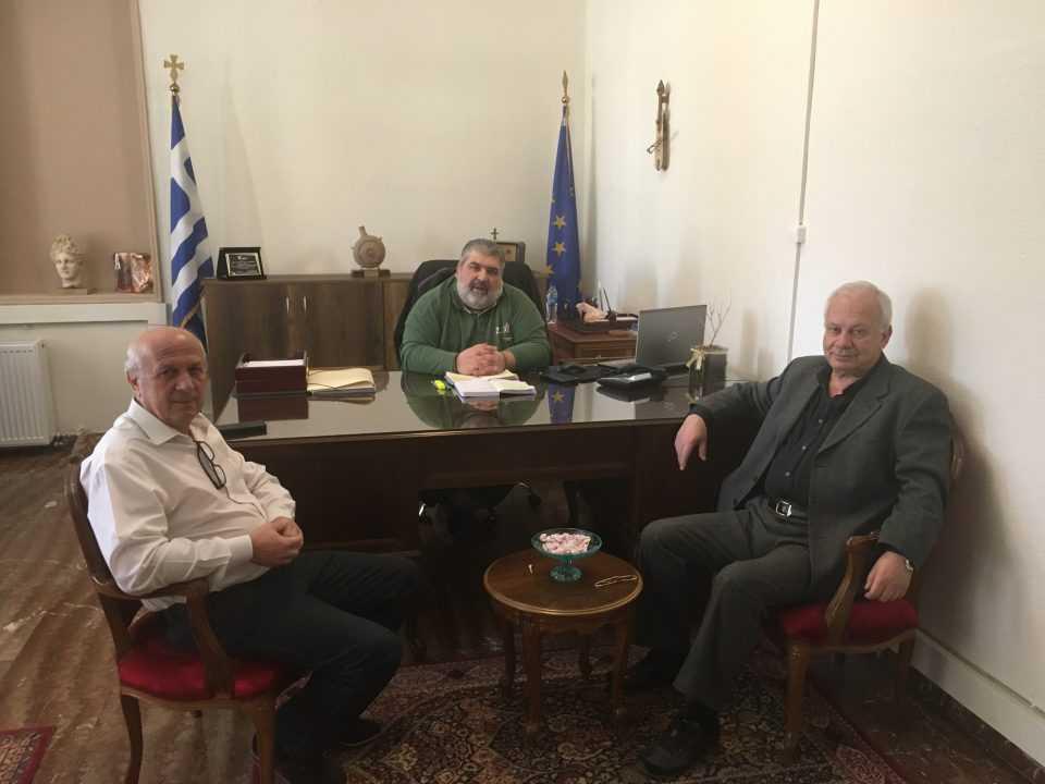 Σωματείο Συνταξιούχων ΔΕΗ: Συνάντηση με το Δήμαρχο Εορδαίας 1