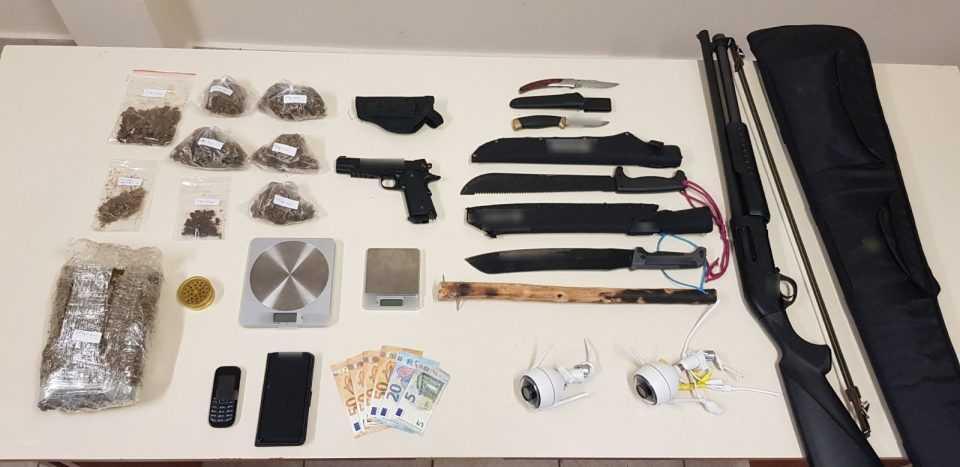 Συνελήφθη 31χρονος ημεδαπός στην Πτολεμαΐδα για διακίνηση ναρκωτικών ουσιών και παράβαση της νομοθεσίας περί όπλων