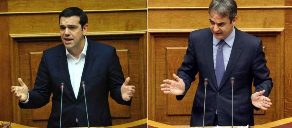 Α.Τσίπρας: «Είσαι ο μεγαλύτερος πολιτικός απατεώνας» - Κ.Μητσοτάκης: «Δεν έχεις θέση σε μια κανονική Ελλάδα» 1