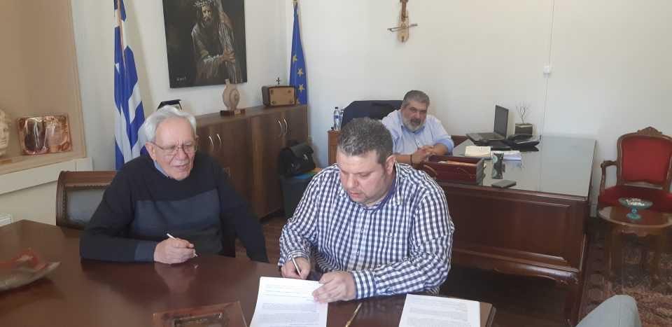 Υπογραφή σύμβασης για το έργο με τίτλο : «Αναβάθμιση ΕΕΛ Πτολεμαΐδας» από την Δημοτική Επιχείρηση Ύδρευσης Αποχέτευσης Εορδαίας.