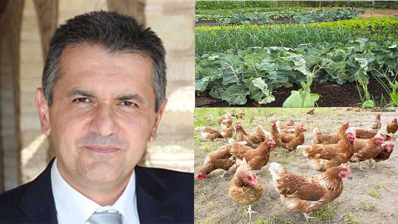 Γιώργος Κασαπίδης στους δυτικομακεδόνες: «Τώρα φροντίστε να βάλετε ένα κήπο, πέντε κότες, να υπάρχει μια αυτάρκεια. Θα έχουμε έλλειψη τροφίμων το χειμώνα, πιθανόν να πεινάσουμε κιόλας»