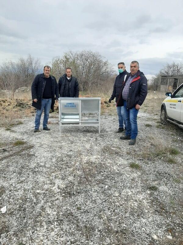Δήμος Κοζάνης: Φροντίζουμε για τα αδέσποτα ζώα μετά την απαγόρευση μετακίνησης –Ταΐστρες και ποτίστρες σε πολλά σημεία