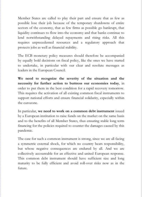 """Ελλάδα, Γαλλία & Ιταλία ικετεύουν Γερμανία για έκδοση ευρωομολόγου «κατά συνεπειών κορωνοϊού» - """"Nein"""" από Βερολίνο 3"""