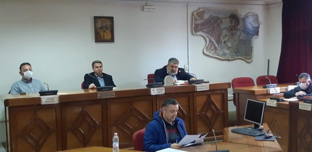 Ο συντονισμός ενεργειών για την αντιμετώπιση του κορωνοϊού (COVID-19), θέμα της σημερινής συνεδρίασης του Σ.Τ.Ο. Πολιτικής Προστασίας Δήμου Εορδαίας. 2