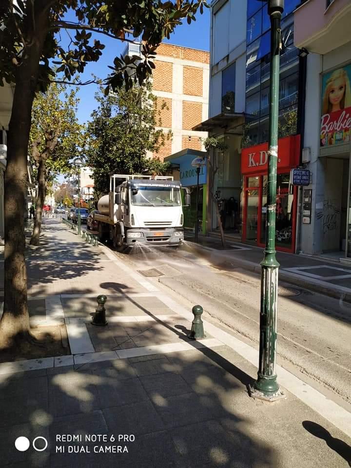 Απολυμάνσεις σε κοινόχρηστους χώρους στην Πτολεμαΐδα πραγματοποίησε ο Δήμος Εορδαίας. 6